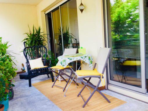 T3 avec terrasse et parking dans résidence de très bon standing